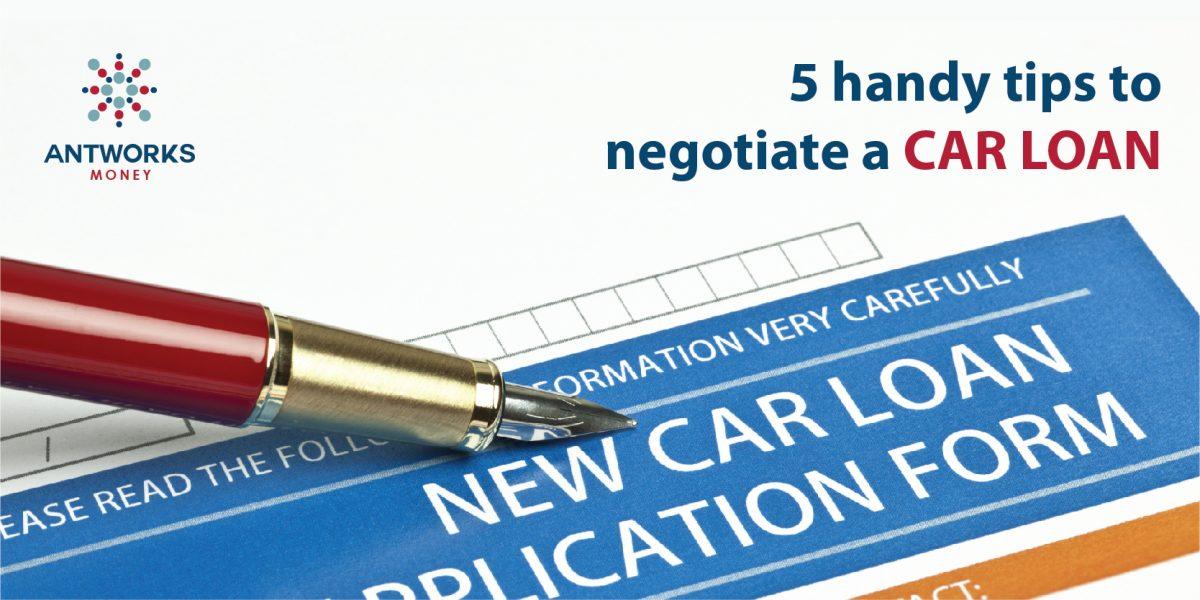 Tips to Negotiate a Car Loan