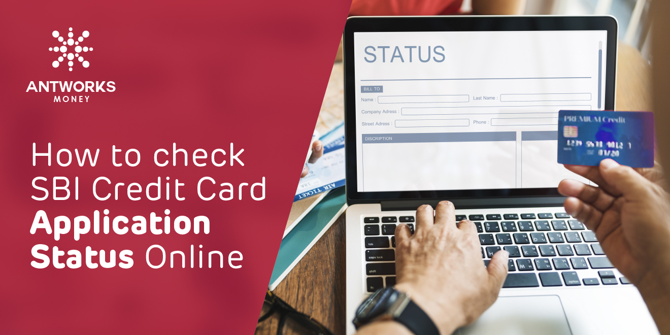 how to check sbi credit card application status online