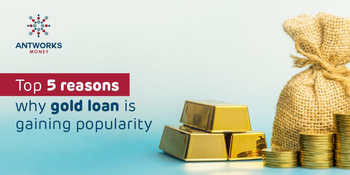 gold loan is gaining popularity