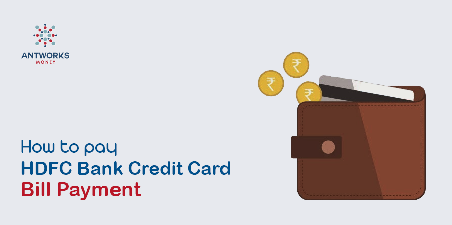 Hdfc credit card bill online payment options